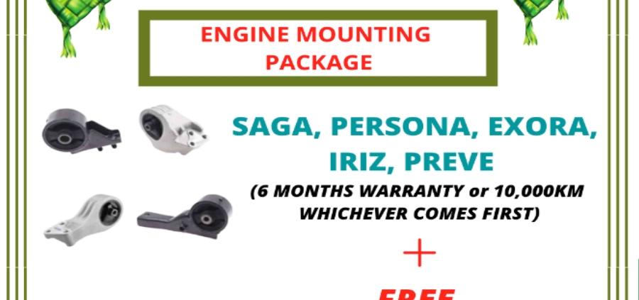 promotion engine mounting